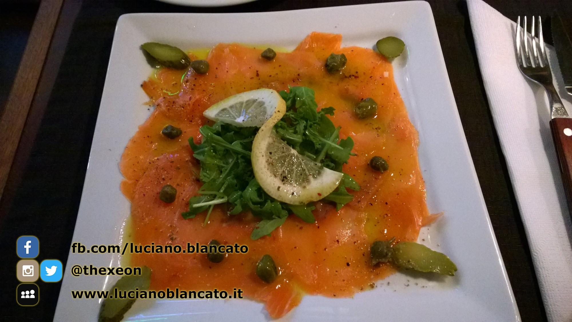 Lisbona - salmone, rucola, capperi e sott aceti! semplicemente delizioso