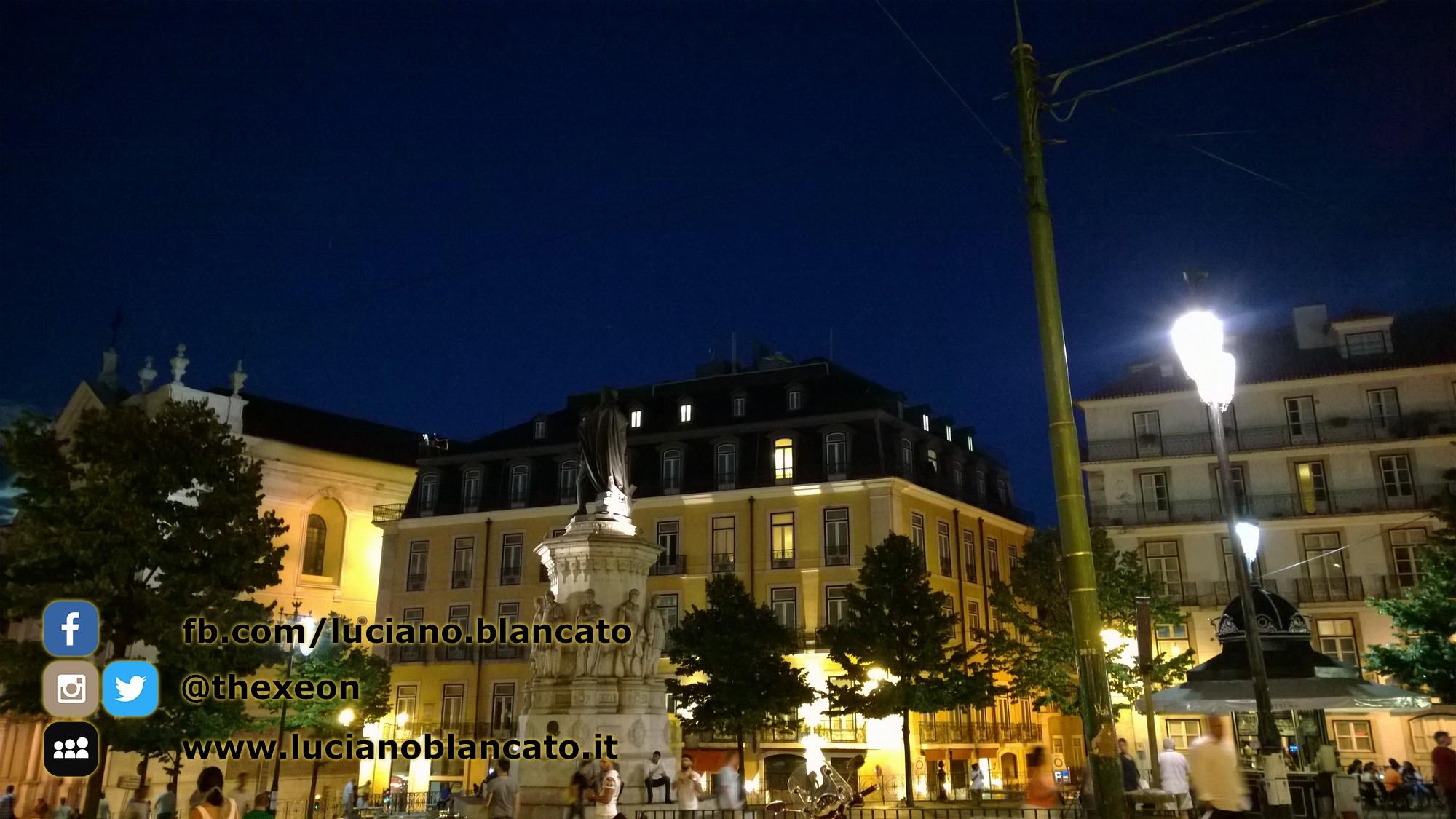 Lisbona - in giro per la città nella notte