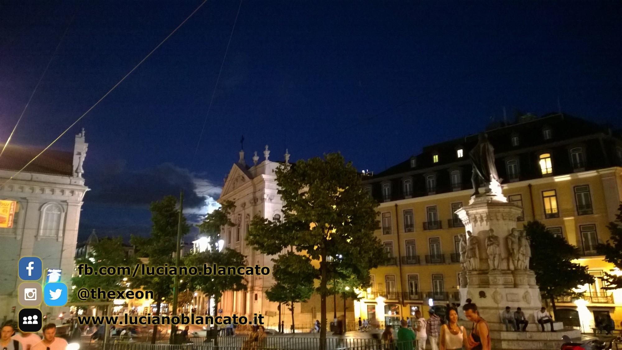 Lisbona - paesaggi notturni