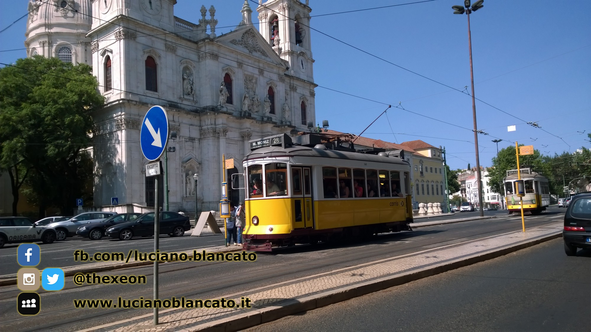 copy_Lisbona - in giro per la città! fermata del tram