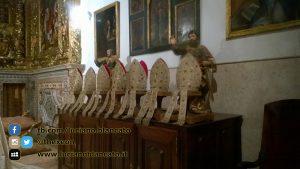 Lisbona - abiti papali Museu Antonio Museu de Lisboa - Santo António