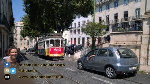 Lisbona - traffico cittadino