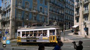 Lisbona -  tram (linea 15)