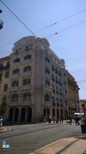 Lisbona - in giro per la città - dal tram