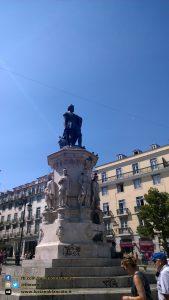 Lisbona - piazza