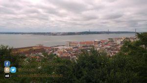 Lisbona - Vista dal Castello di São Jorge, R. de Santa Cruz do Castelo