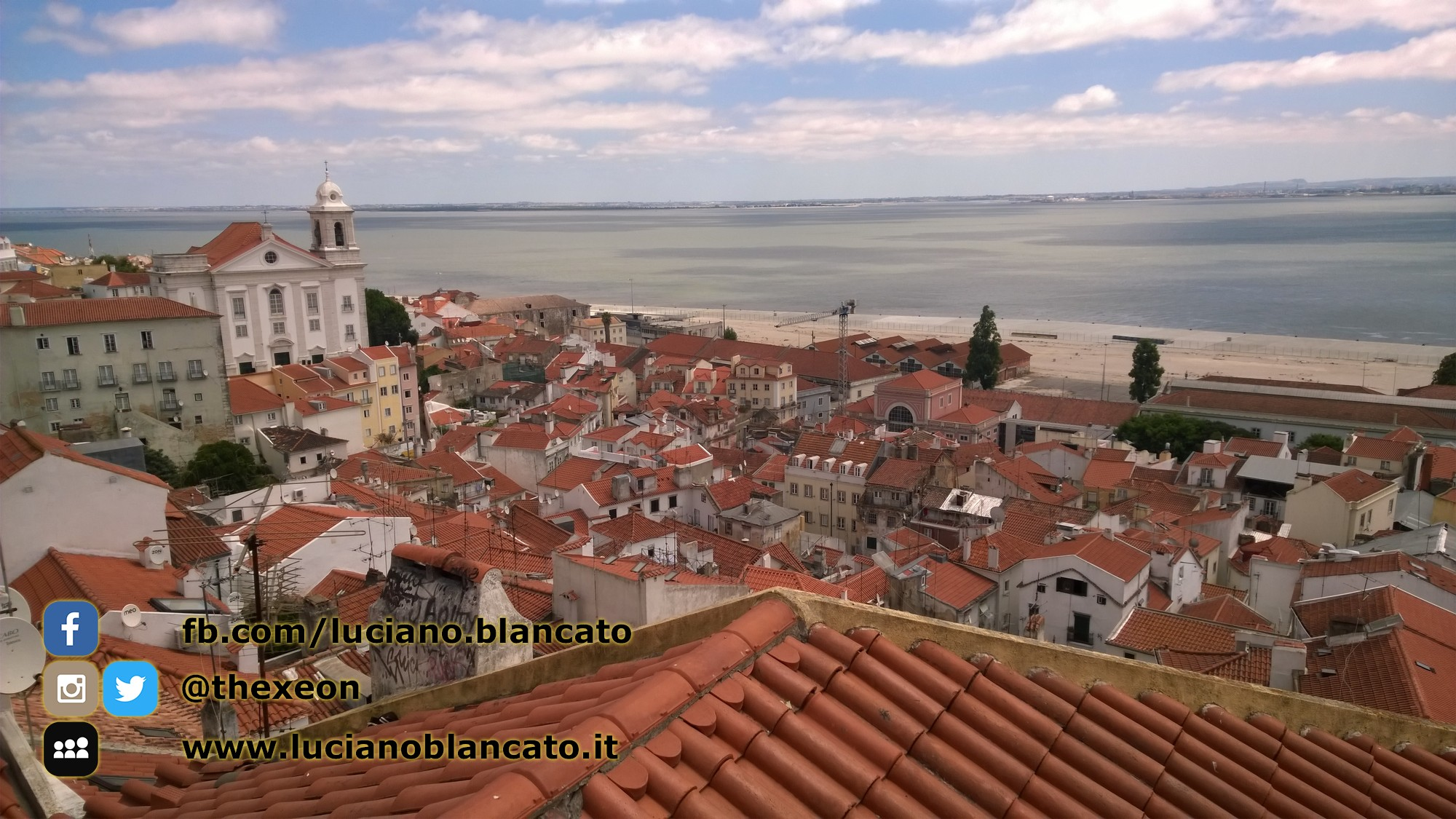 Lisbona - Miradouro de Santa Luzia