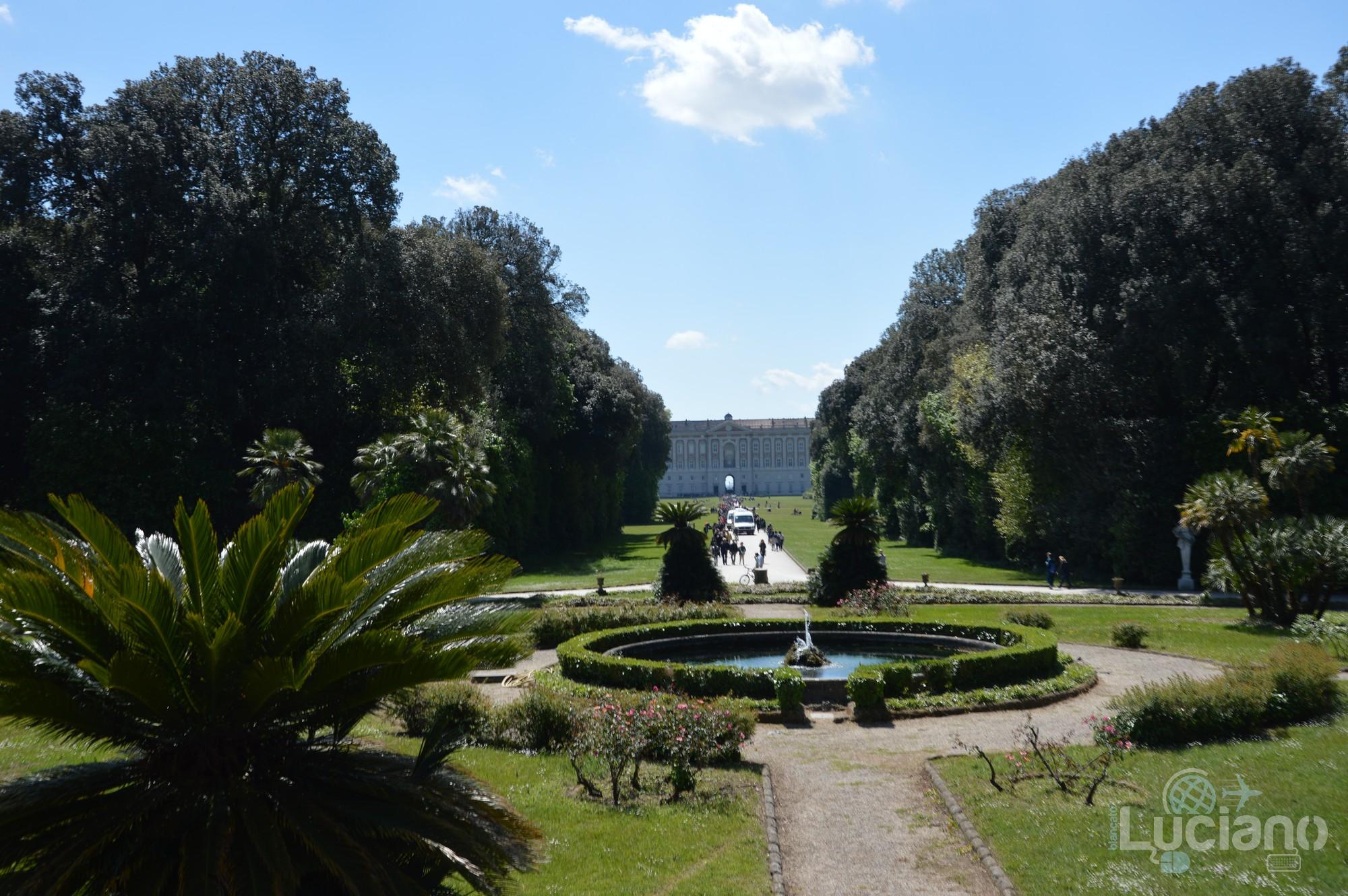 La struttura della Reggia di Caserta e del Parco