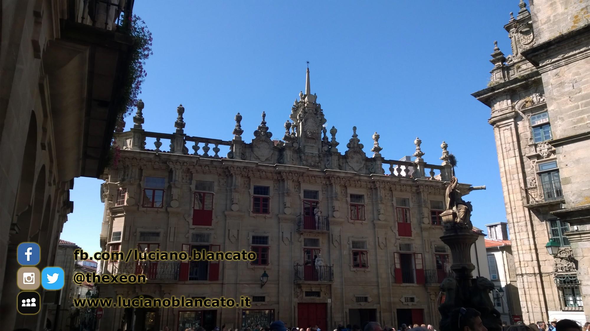 Santiago de Compostela - in giro per le vie della città