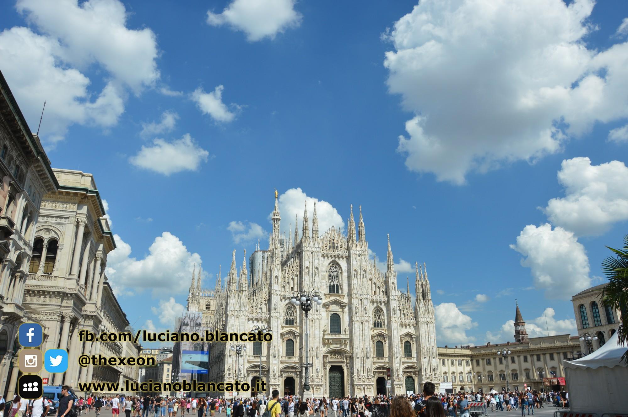 Milano - vista del duomo