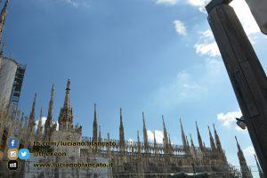 Milano - dettagli del duomo