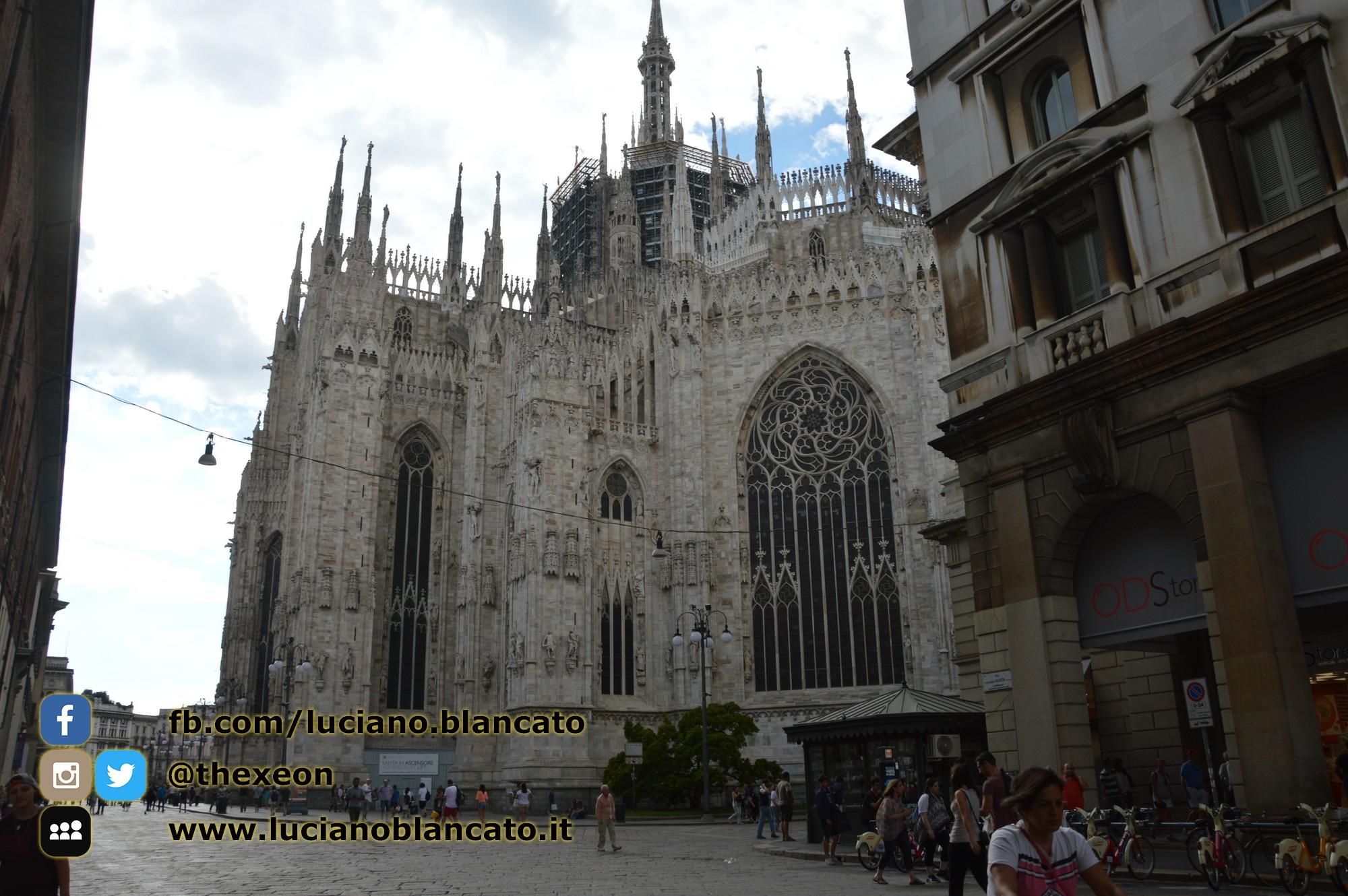 Milano - dettaglio del duomo
