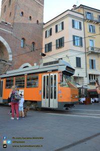 Milano - Porta ticinese antica attraversata dal tram