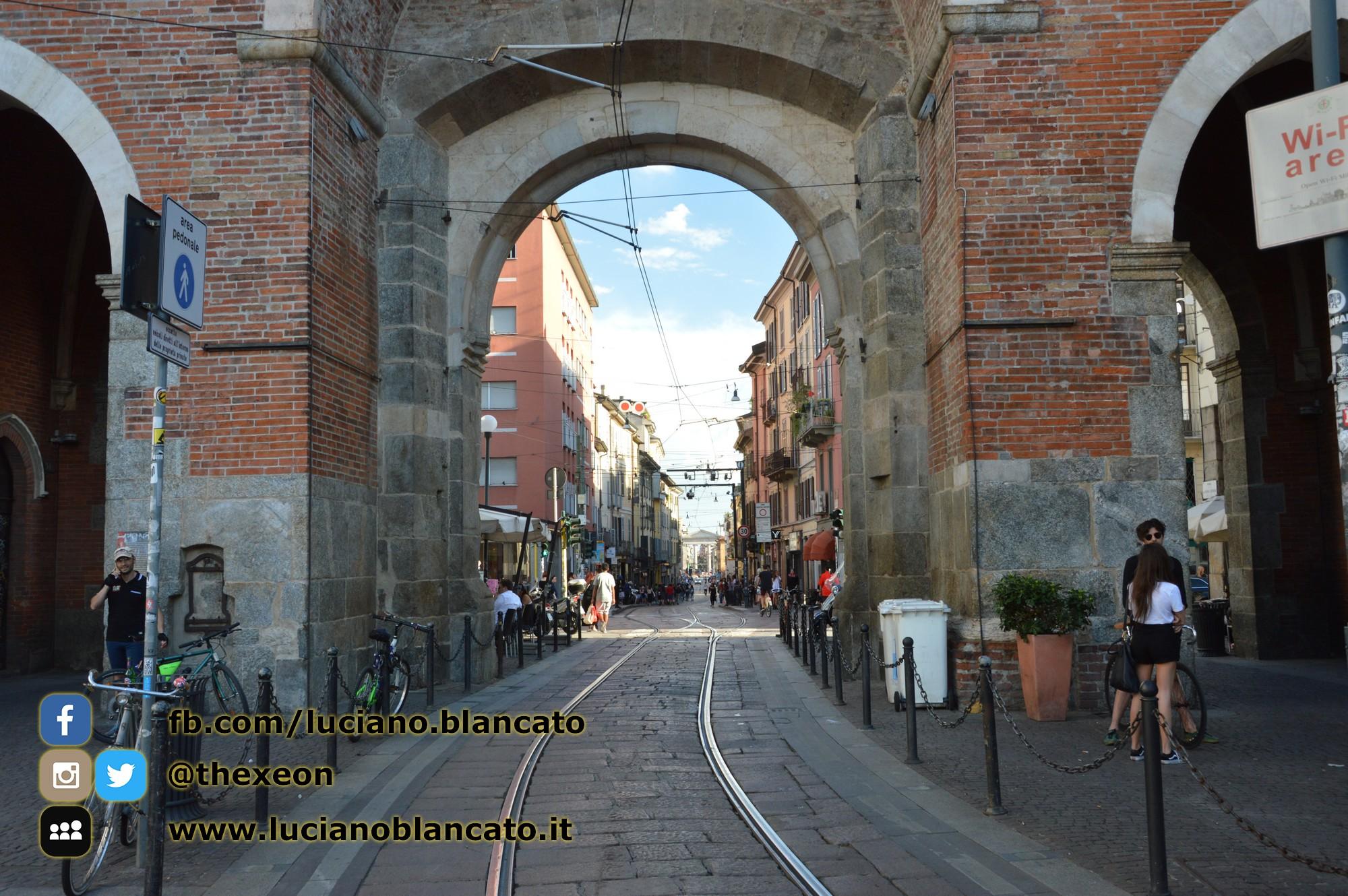 copy_Milano - Porta ticinese antica