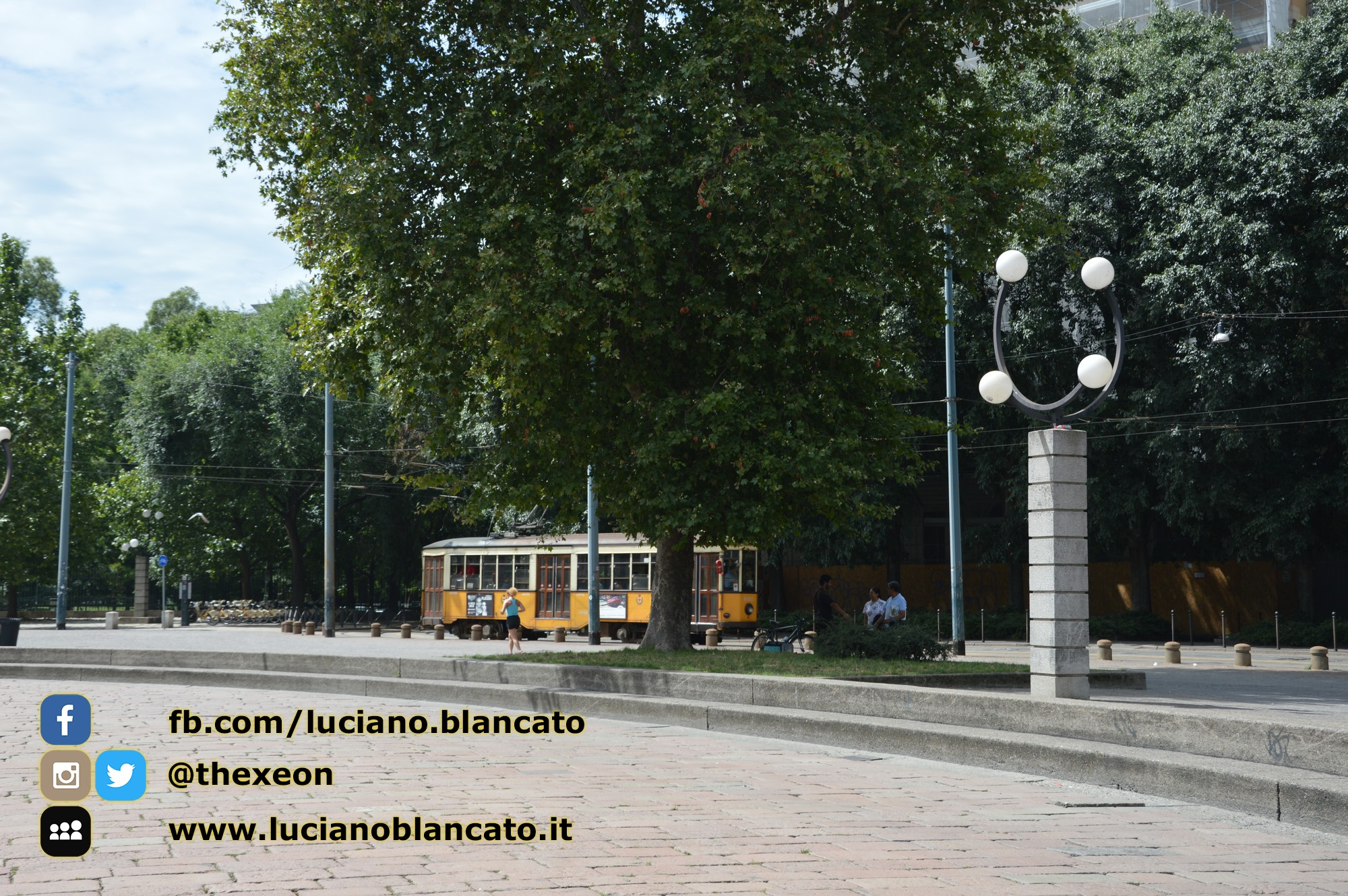 Milano - in giro per la città - tram