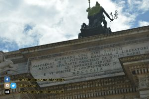 Milano - Arco della Pace - dettaglio