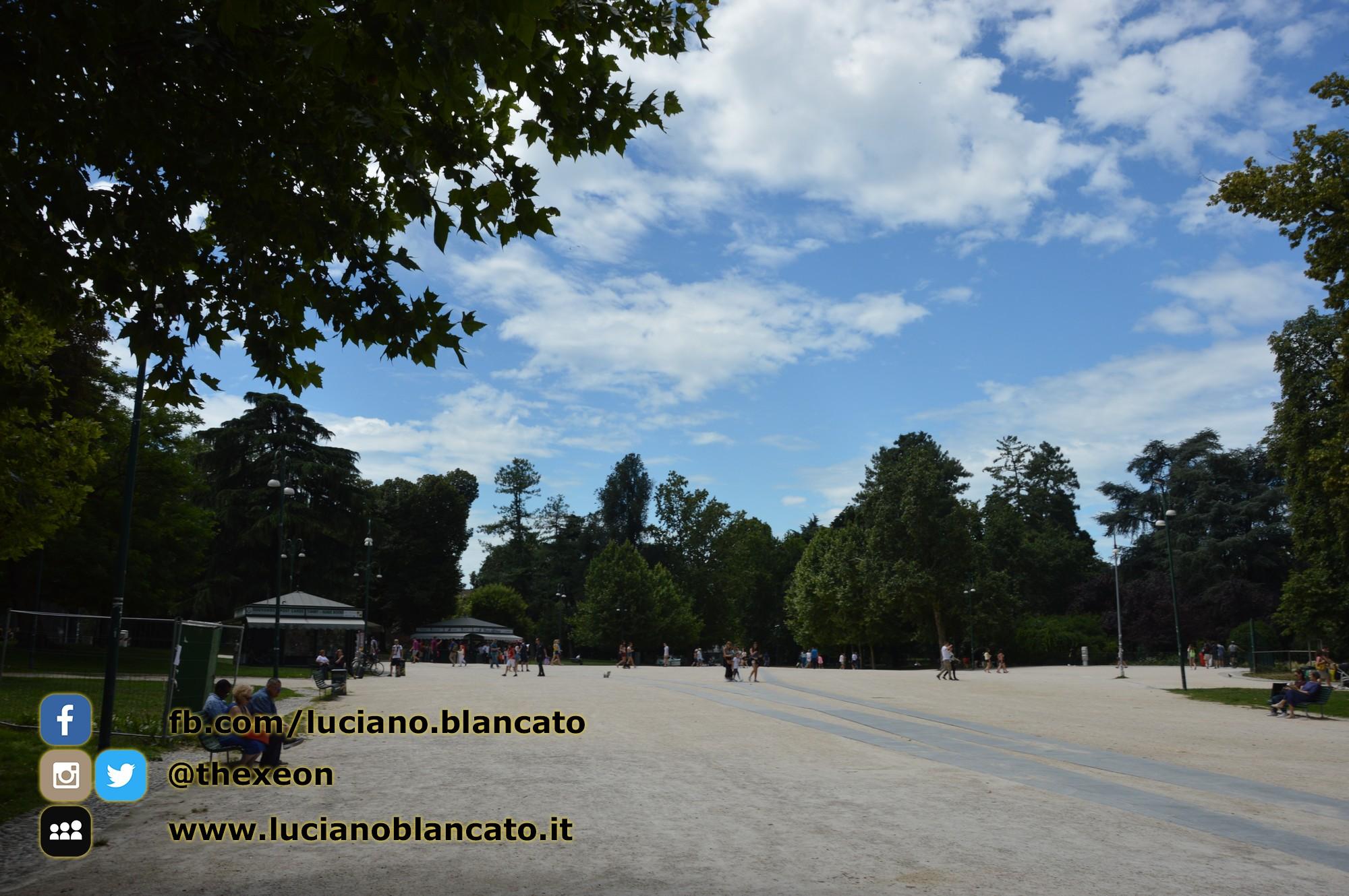 Milano - Castello sforzesco - parco sempione