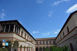 Milano - Castello sforzesco - cortili interni - dettagli