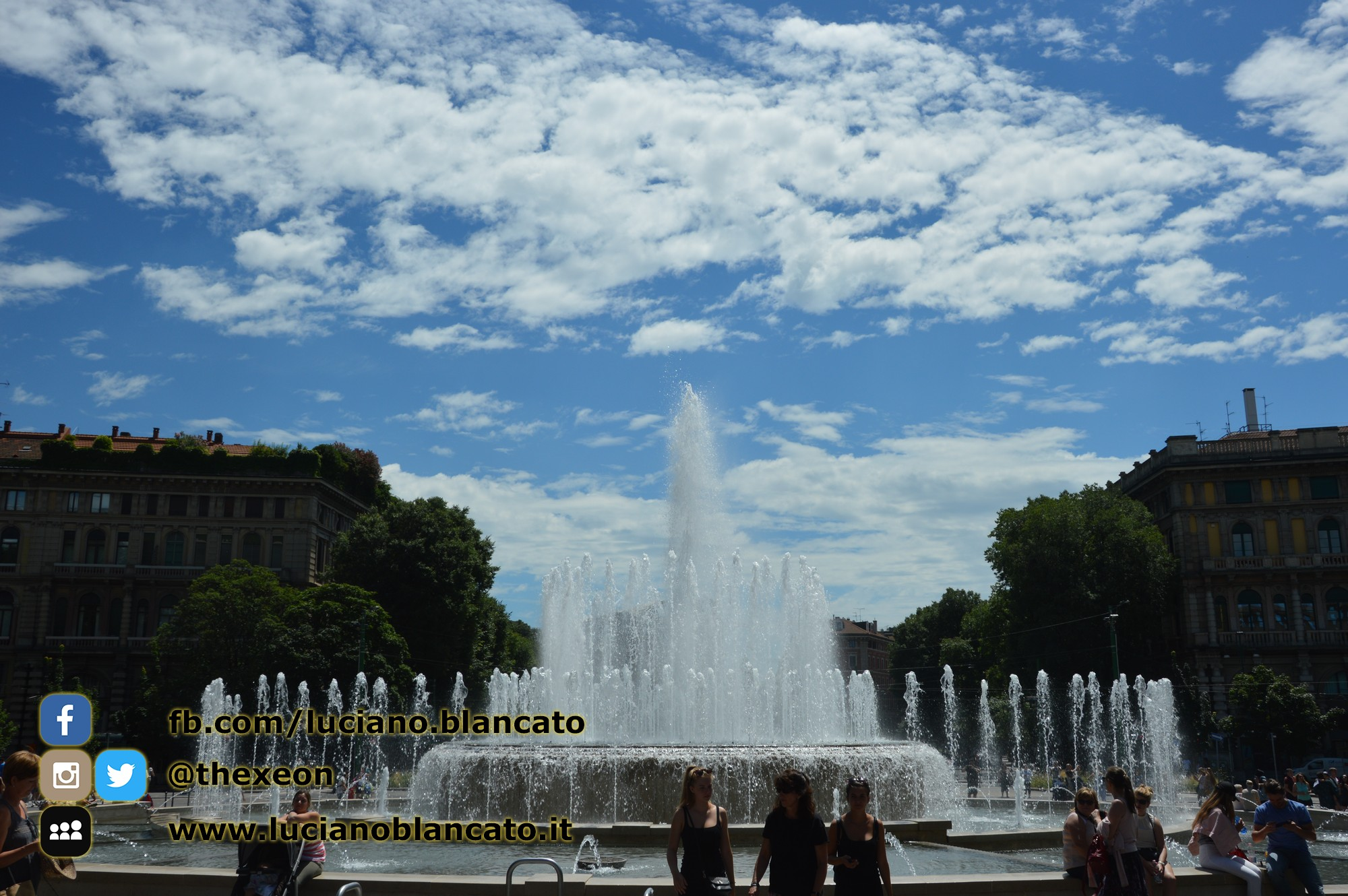 Milano - Castello sforzesco - Piazza del Castello