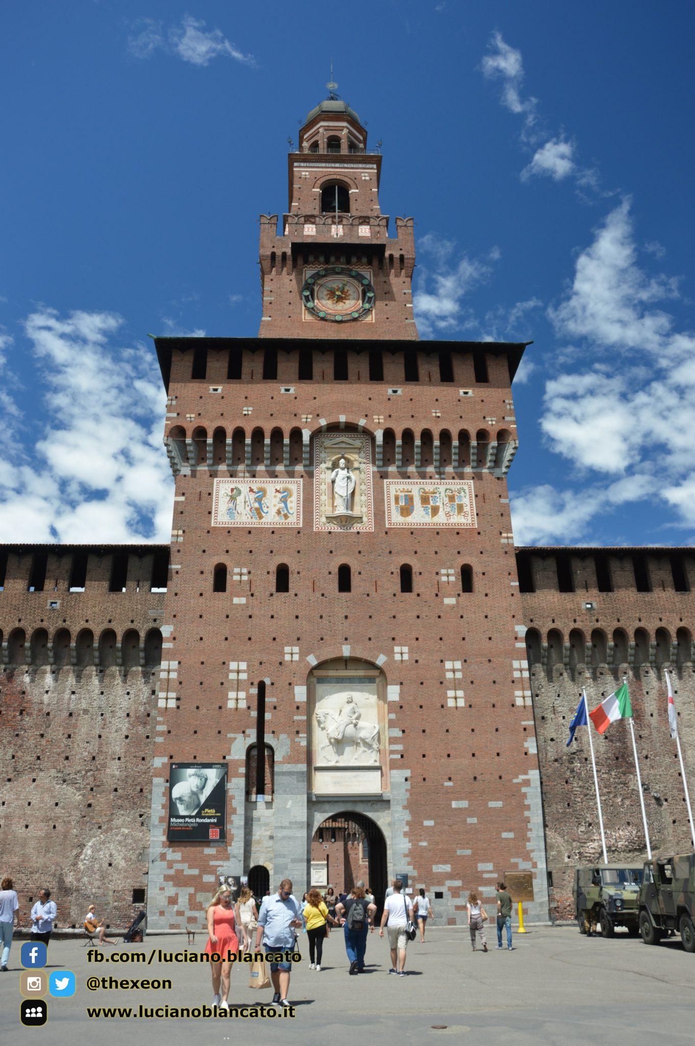 copy_Milano - Castello sforzesco
