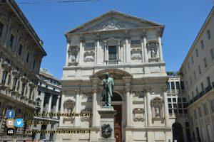 Milano - Monumento ad Alessandro Manzoni