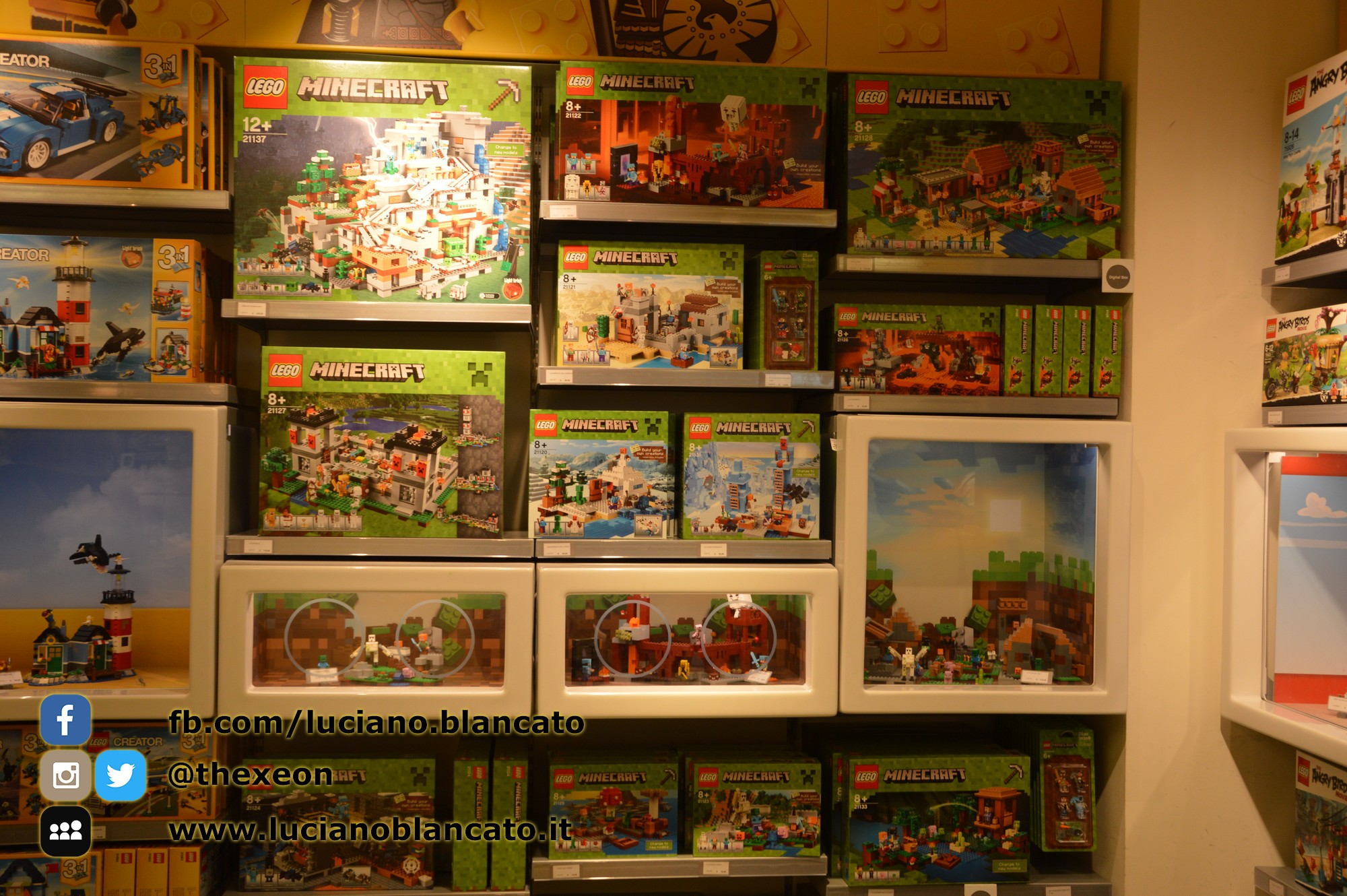 Milano - Lego Store - Serie MINECRAFT