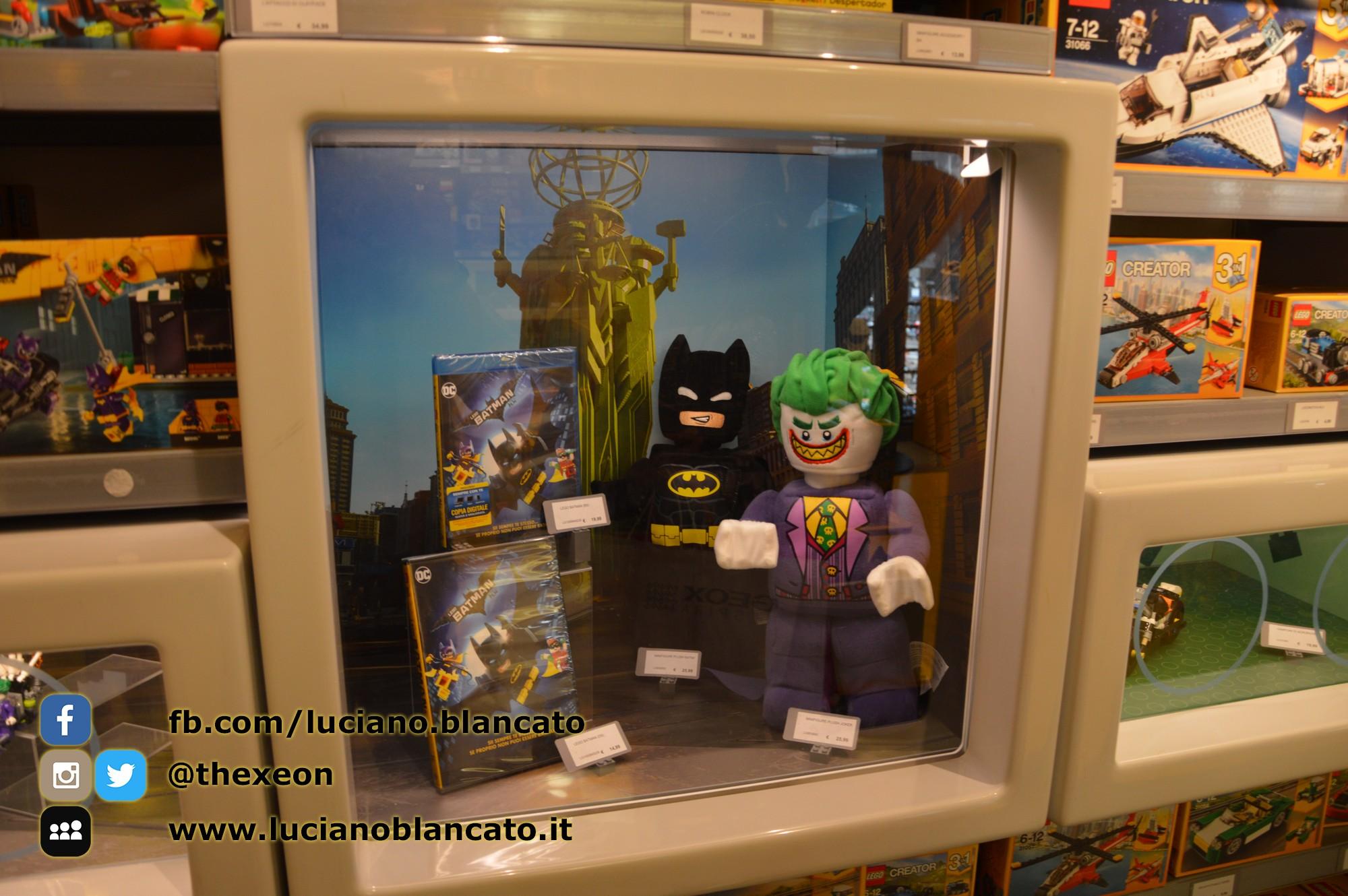 Milano - Lego Store - Serie BATMAN