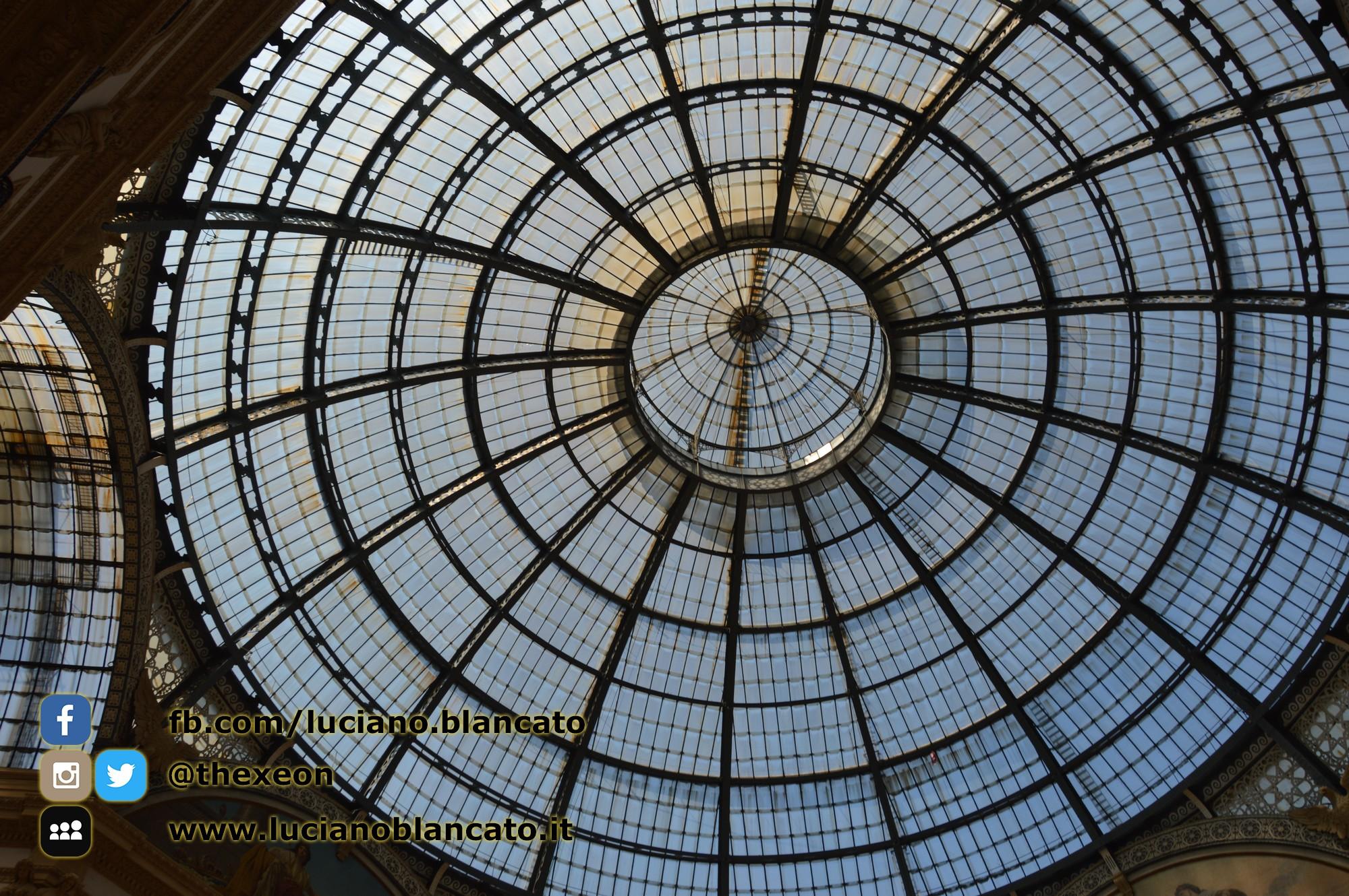 Milano - cupola galleria Vittorio Emanuele II