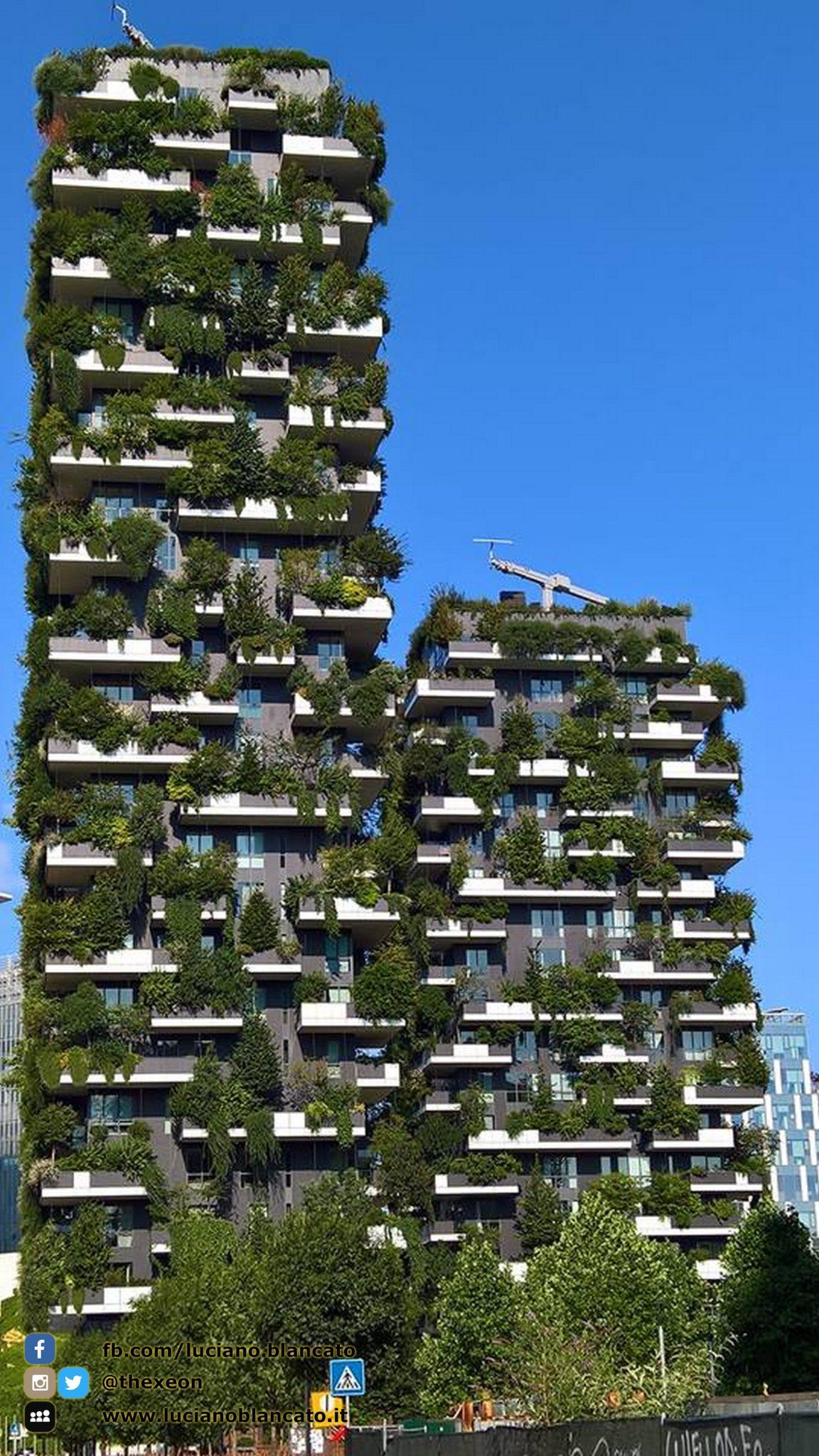 Milano - giardino verticale
