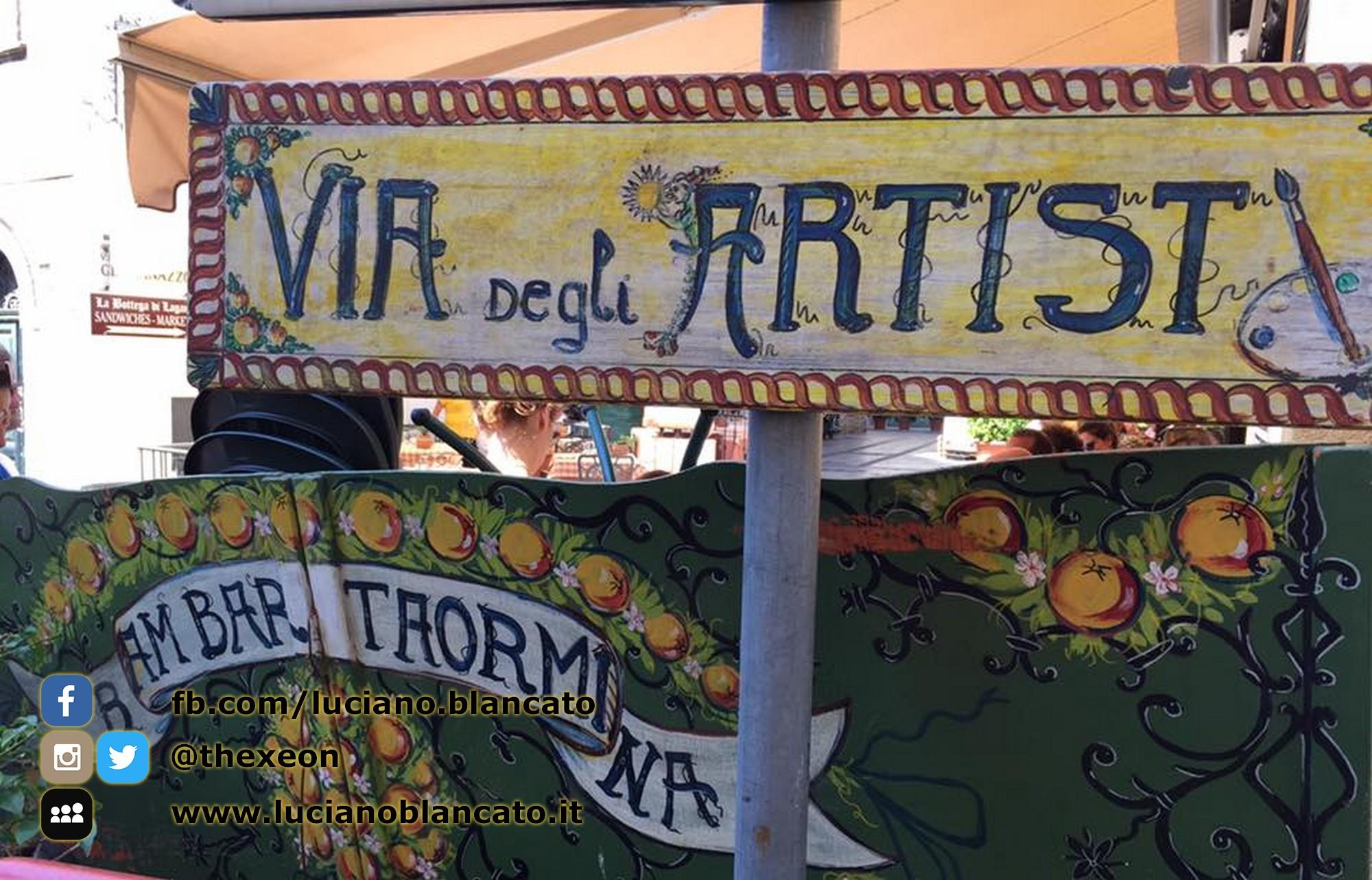 Taormina - via degli artisti