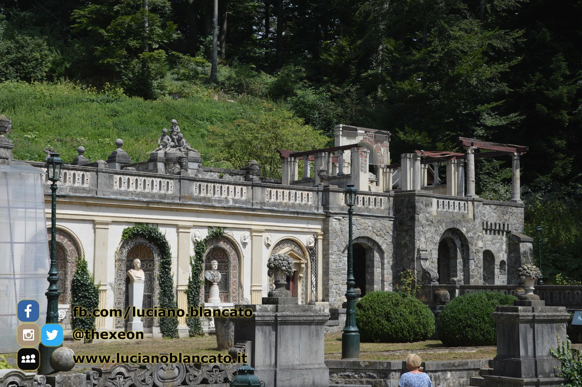 copy_5_Bucarest - Peleș Castle - Castelul Peleș - parco