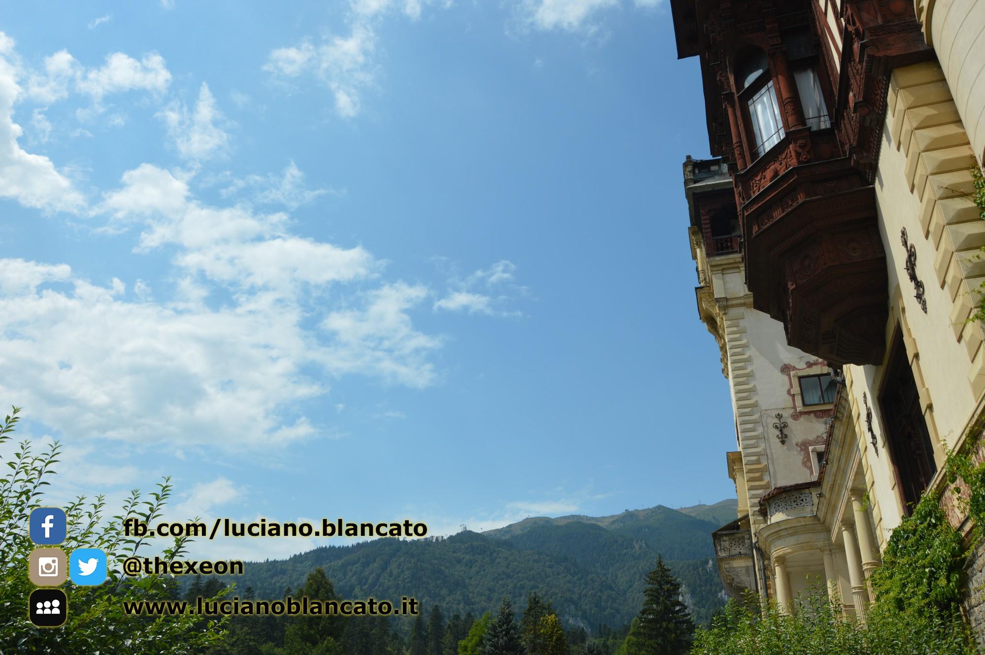 Bucarest - Peleș Castle - Castelul Peleș - parco