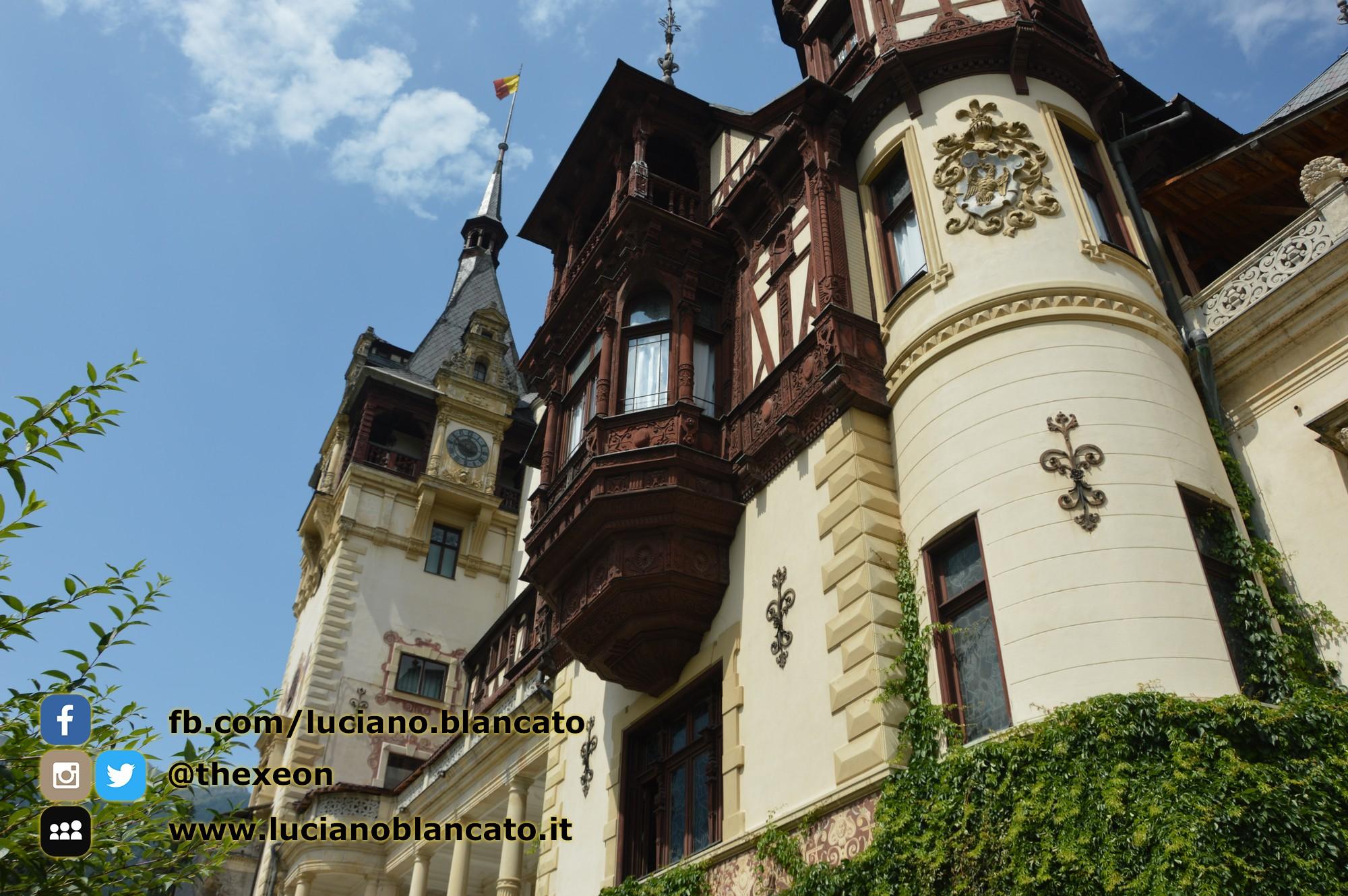 Bucarest - Peleș Castle - Castelul Peleș - torri
