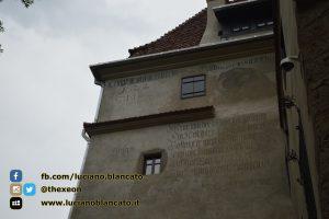 Bucarest - Castello di Bran - Vista del castello