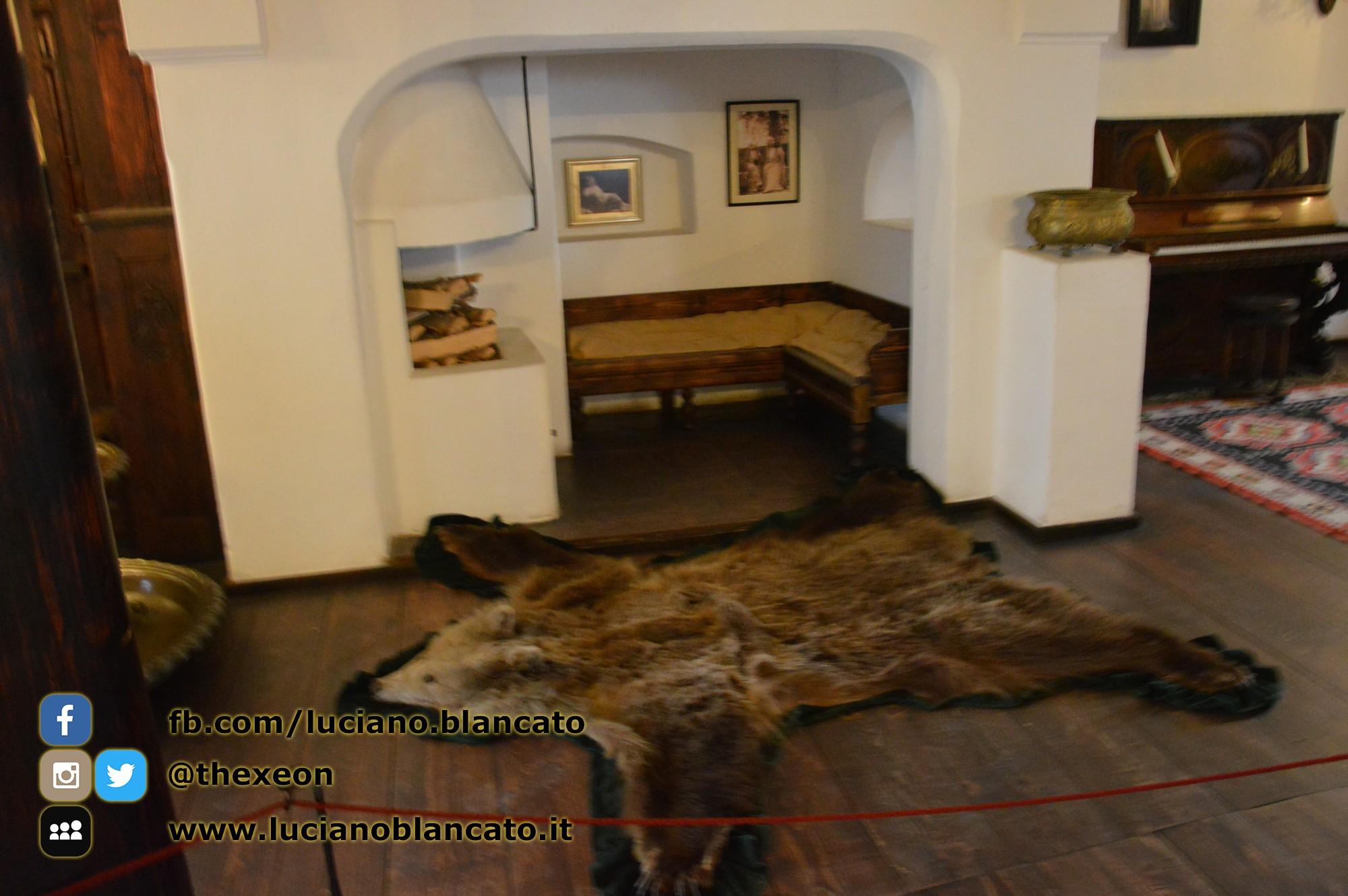 copy_1_Bucarest - Castello di Bran - Sala lettura