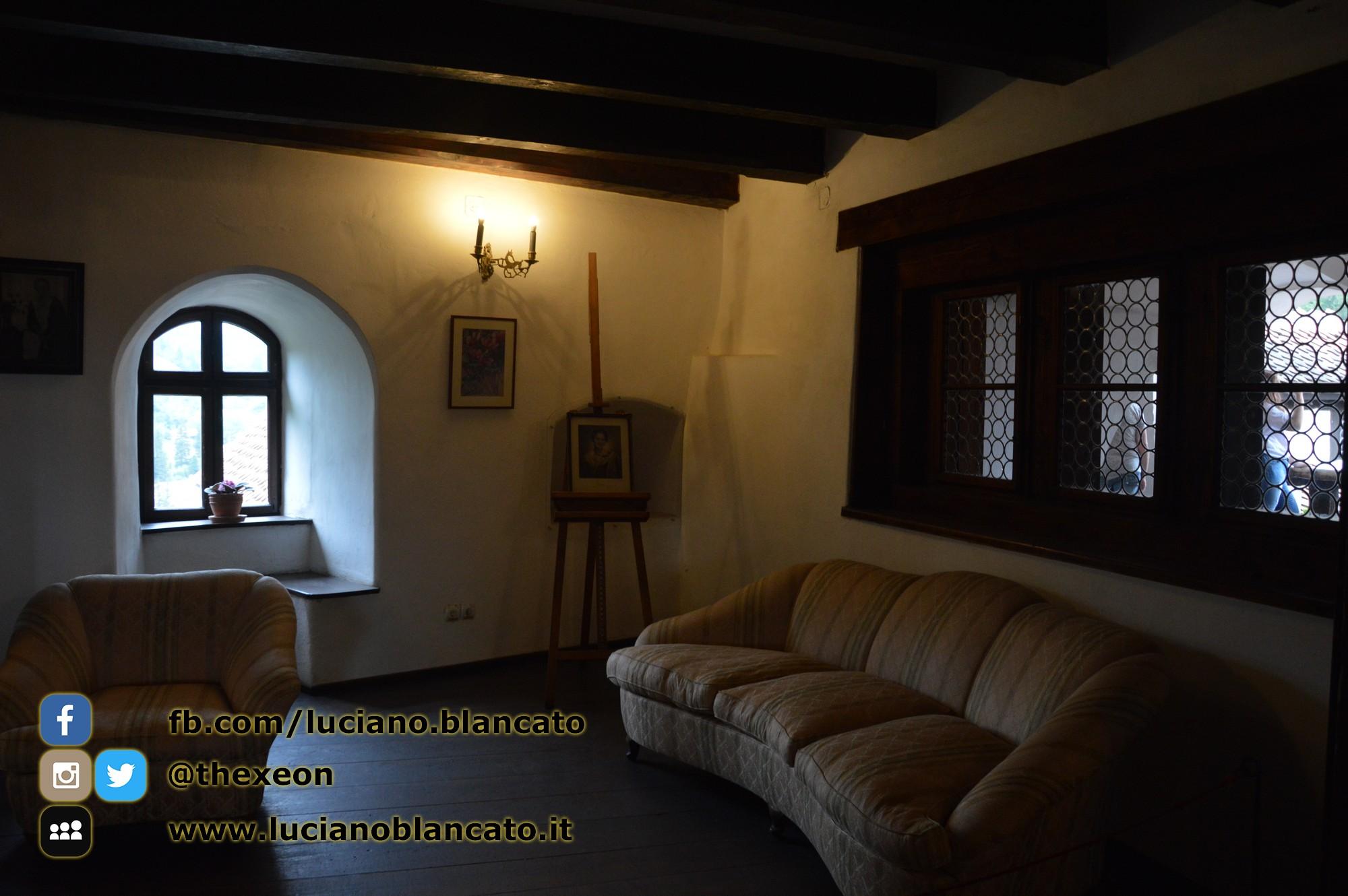 copy_4_Bucarest - Castello di Bran - Sala lettura