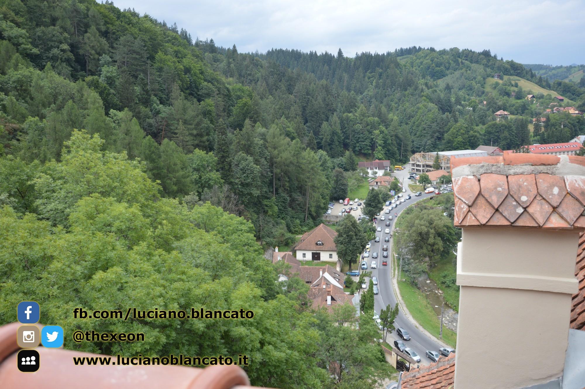 copy_2_Bucarest - Castello di Bran - Vista dal castello
