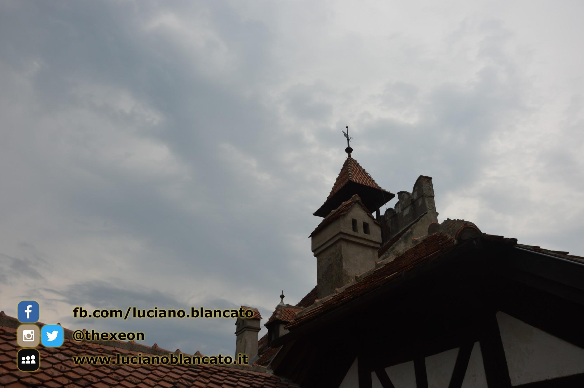 Bucarest - Castello di Bran - Vista delle torri