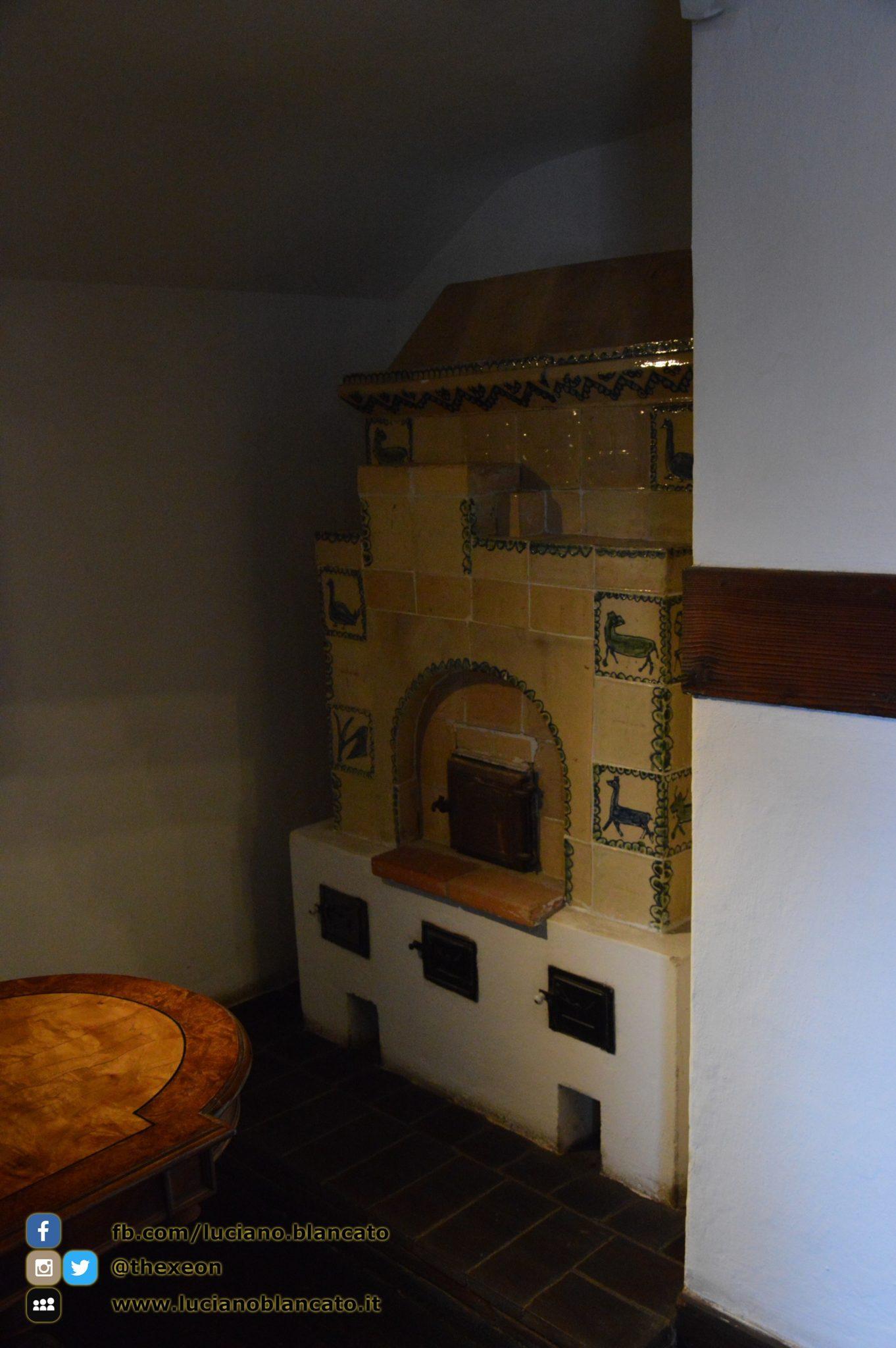 Bucarest - Castello di Bran - Forno e/o riscaldamenti