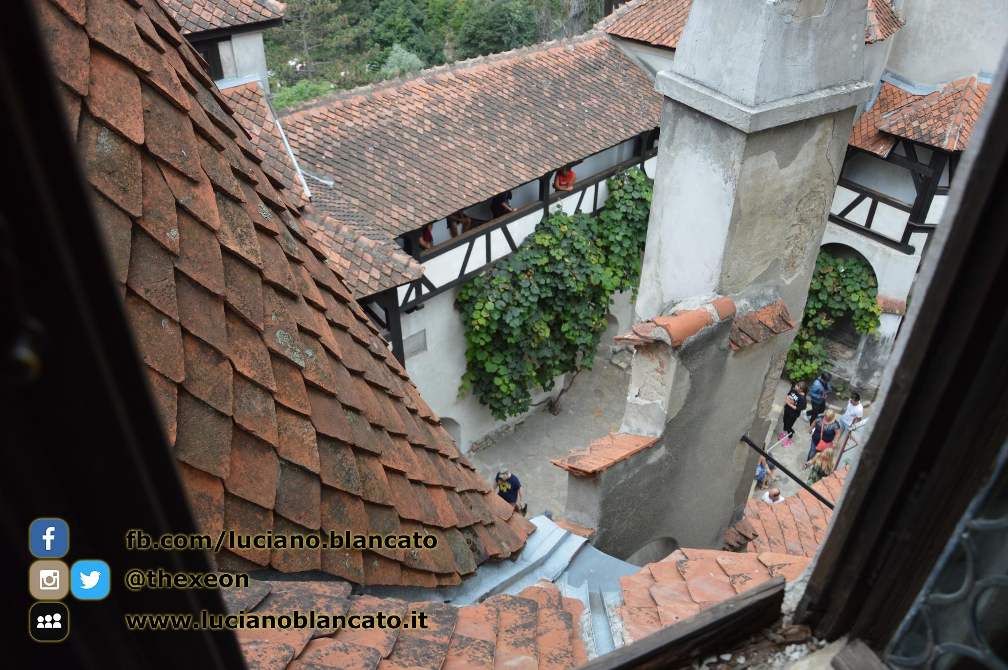 Bucarest - Castello di Bran - Vista dalla torre