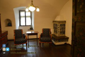 Bucarest - Castello di Bran - Stanza della lettura