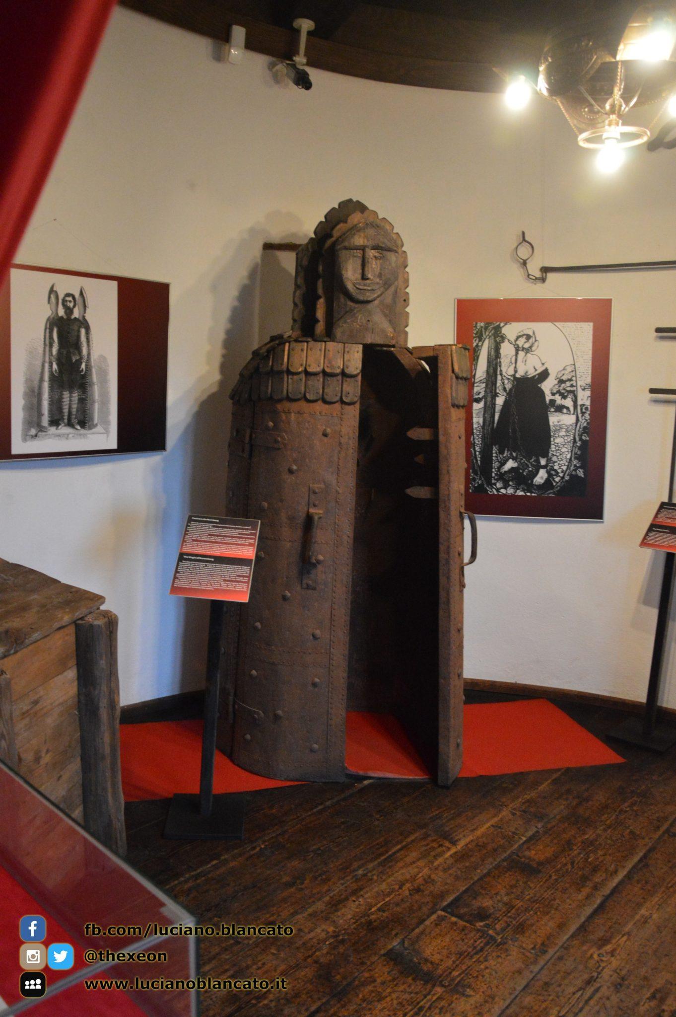 Bucarest - Castello di Bran - stanza delle torture