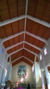 Iceland - interno chiesa