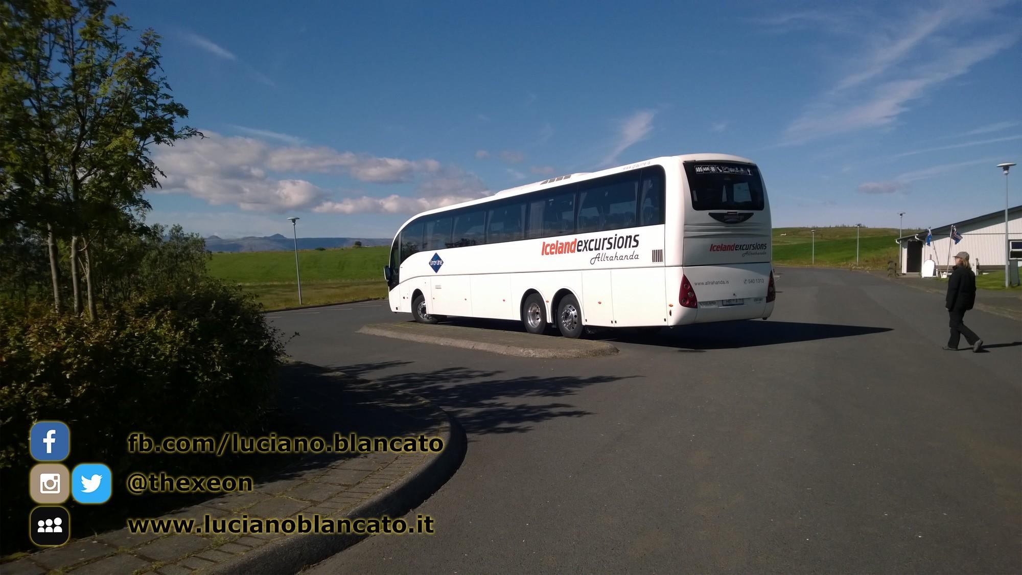 Iceland - IcelandExcursions bus!