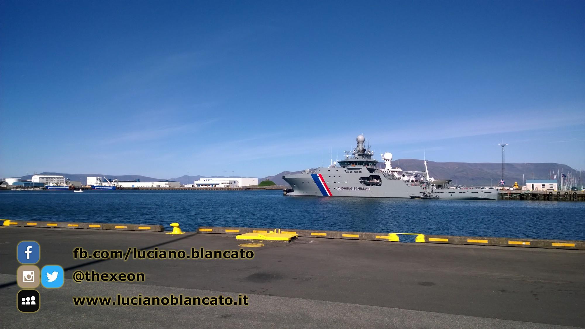 Iceland - Coast Guard navy