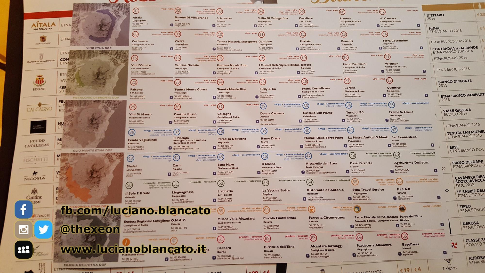ViniMilo 37a edizione - Strade del vino dell etna