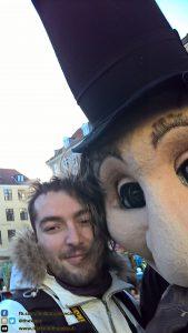 Io in giro per Copenaghen, facendo strani incontri! - Danimarca