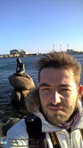 io e la La sirenetta - Den Lille Havfrue - Copenaghen - Danimarca