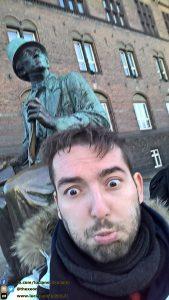 In giro per Copenaghen, facendo strani incontri - Danimarca
