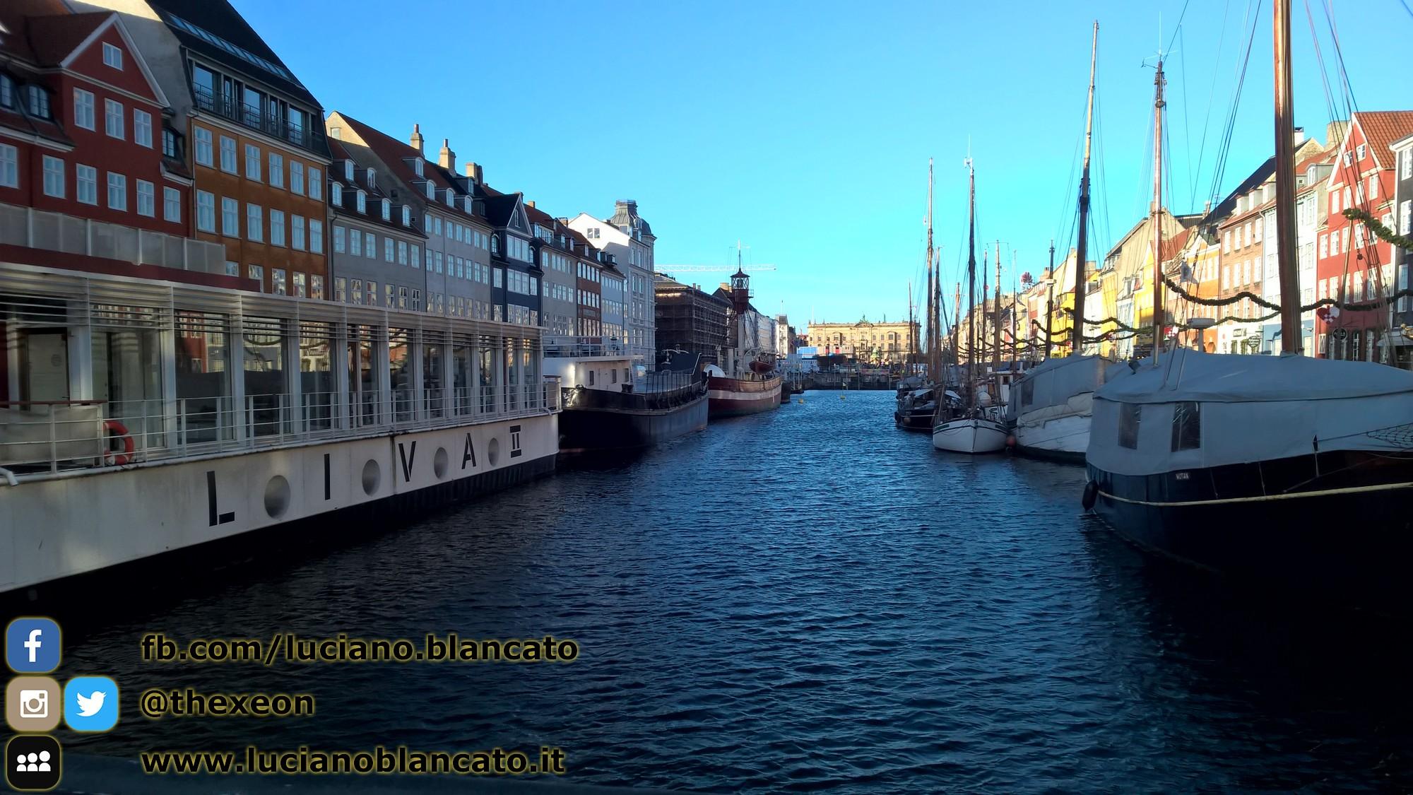 In giro per Copenaghen, vista dei canali - Danimarca